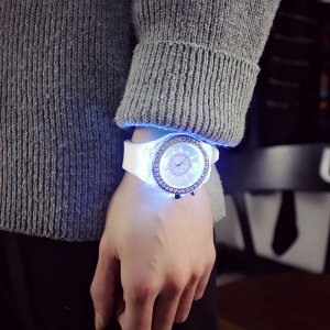 AliAddicts  LED Flash Luminous Watch For Women  AliAddicts