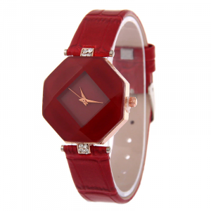 AliExpress Geometry Crystal Leather Quartz Wristwatch AliAddicts (6)
