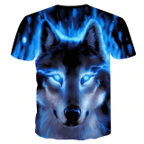 Newest Wolf 3D Print Animal t-shirt | AliExpress | AliAddicts