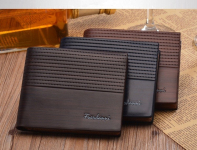 Baellerry Men Vintage Luxury Leather Wallet | AliAddicts | AliExpress