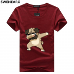 SWENEARO Animal Print Hipster Funny Men's T-shirts | AliAddicts