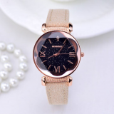 Rose Gold Leather Watches For Women | AliExpress | AliAddicts